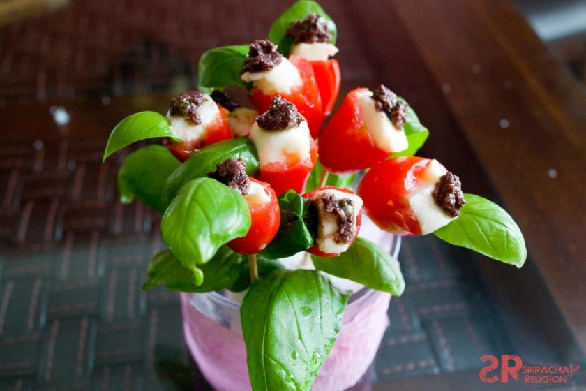 Caprese Tulips