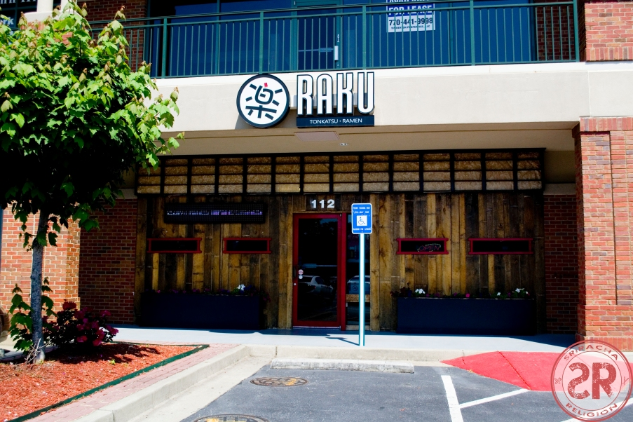 Raku Tonkatsu & Ramen -restaurant review by Sriracha Religion
