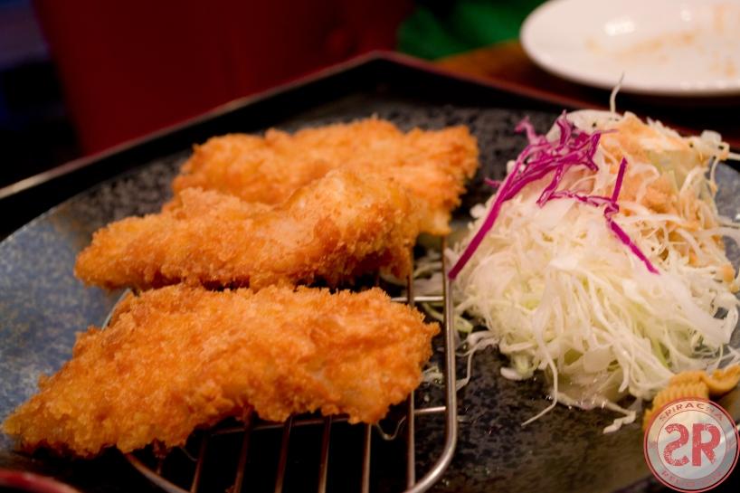 Fish Katsu at Raku Tonkatsu & Ramen