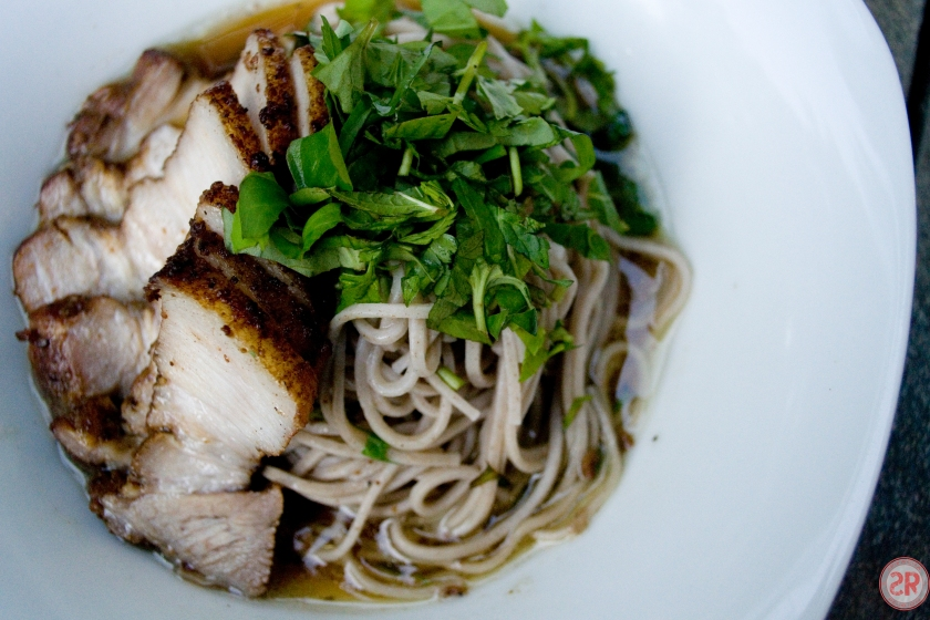 Soba Noodles with Braised Pork