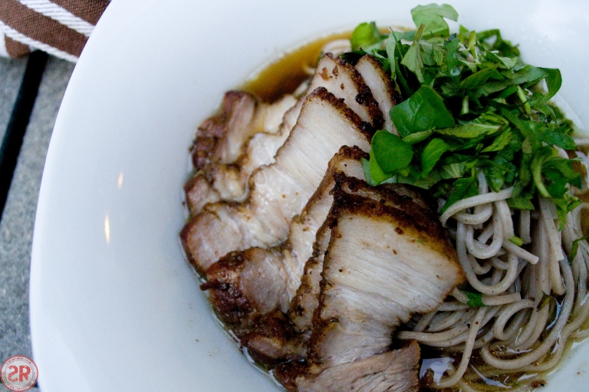 Soba Noodles with Braised Pork
